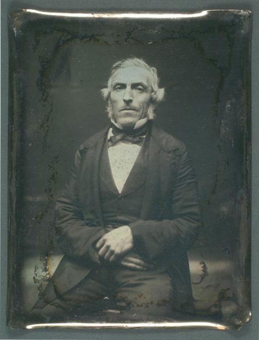 William Henry Herndon Daguerreotype