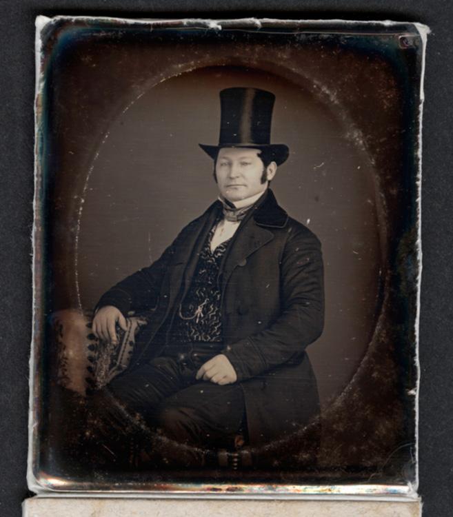 Levi Strauss Daguerreotype