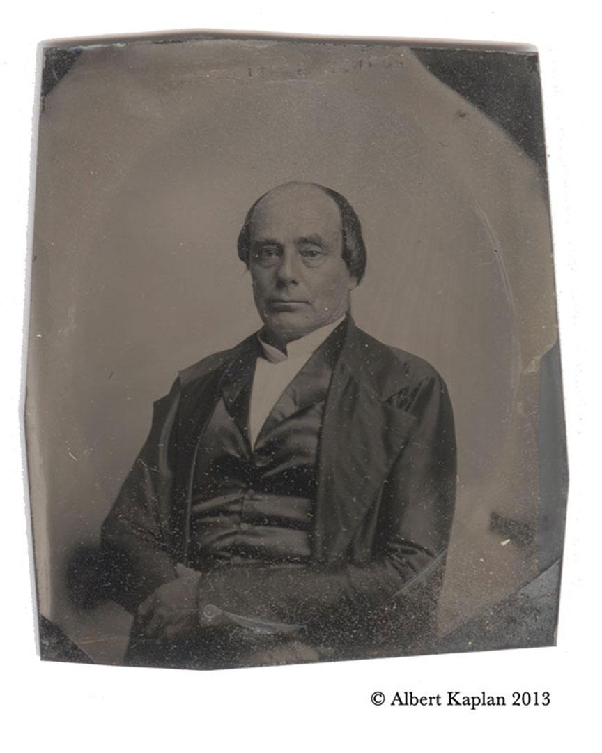 Daniel Webster Daguerreotype Lateral Image